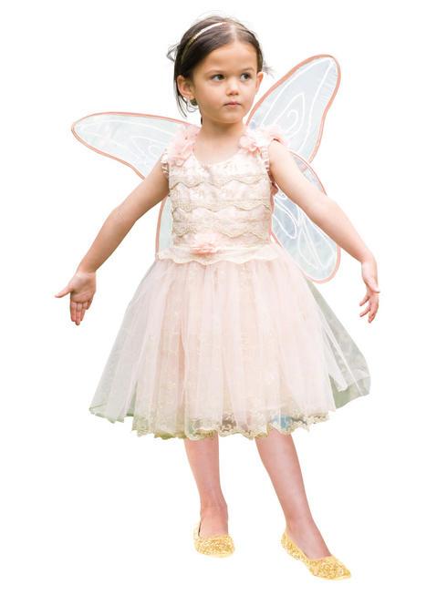 Girl's Travis Designs Vintage Fairy Costume