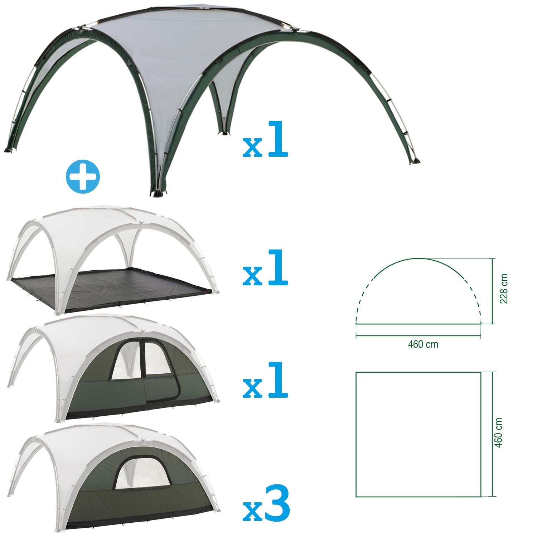 coleman event shelter deluxe xl 4 5m bundle event shelters outdoor hub. Black Bedroom Furniture Sets. Home Design Ideas