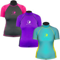 Ladies Odyssey Short Sleeve Rash Vest