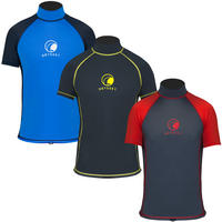Mens Odyssey Short Sleeve Rash Vest
