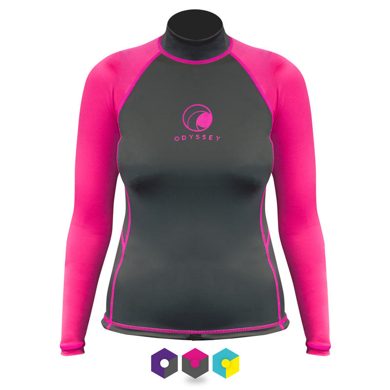 Ladies Odyssey Long Sleeve Rash Vest