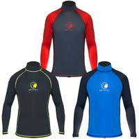 Mens Odyssey Long Sleeve Rash Vest