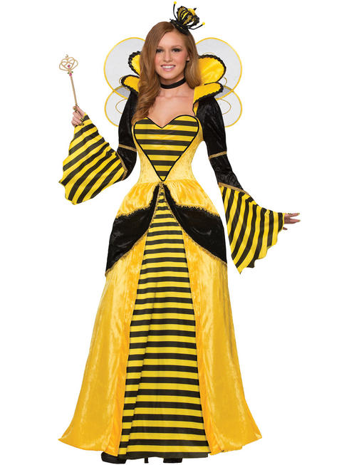 Ladies Queen Bee Costume - Standard