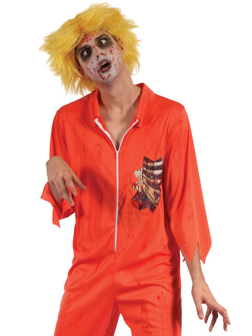 Men's Zombie Prisoner Costume