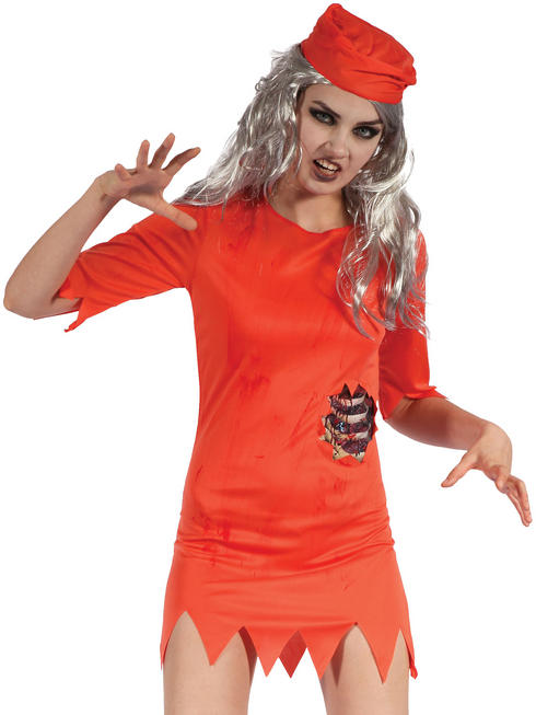 Ladies Zombie Prisoner Costume