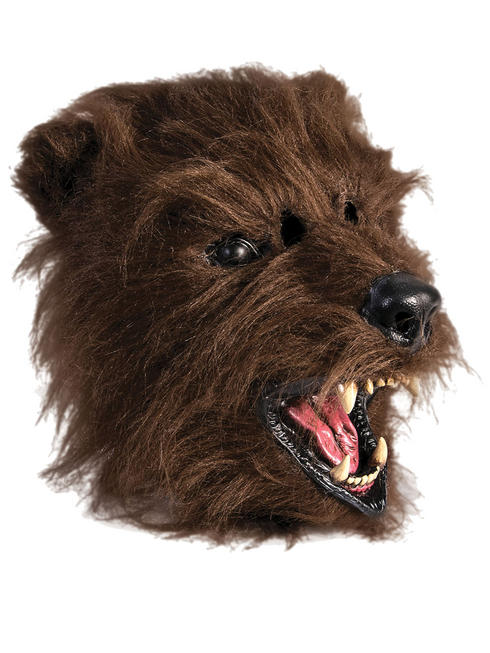 Adult's Scary Bear Mask