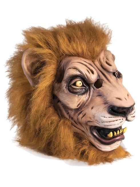 Adult's Ferocious Lion Mask