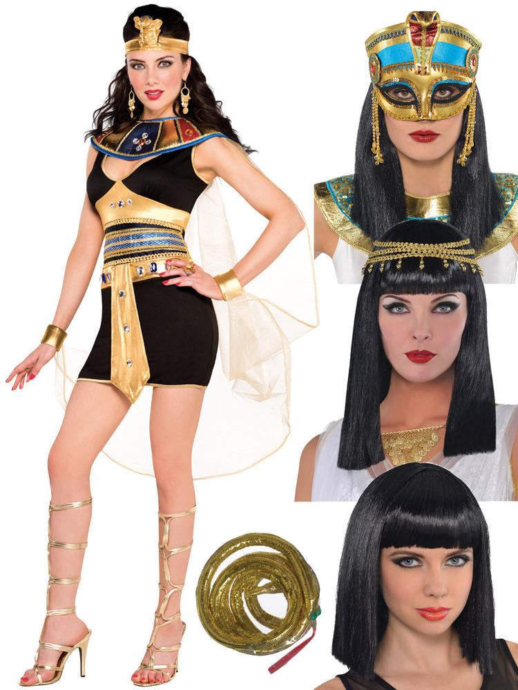 Ladies Cleopatra Costume & Accessories