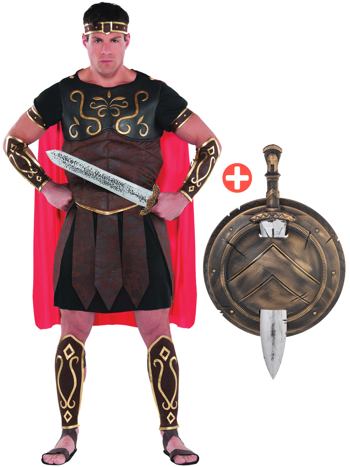 Mens roman centurion costume adult gladiator spartan warrior fancy take yourself back to the roman era with this fantastic centurion costume ideal for a themed party or freshers solutioingenieria Gallery