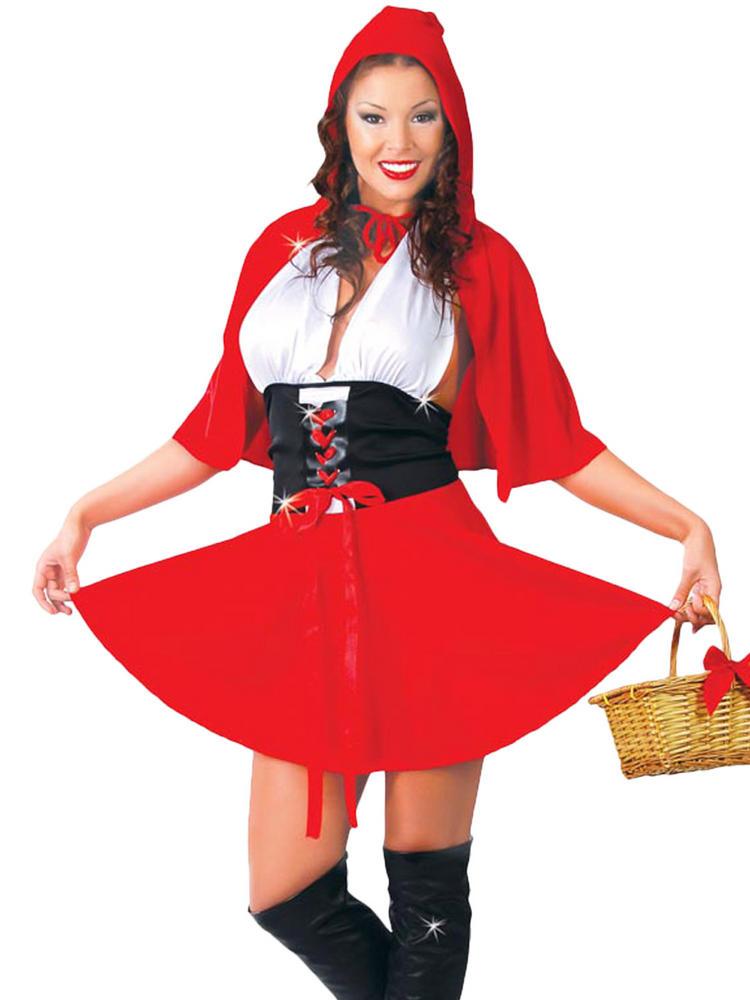 Ladies Sexy Red Riding Hood Costume