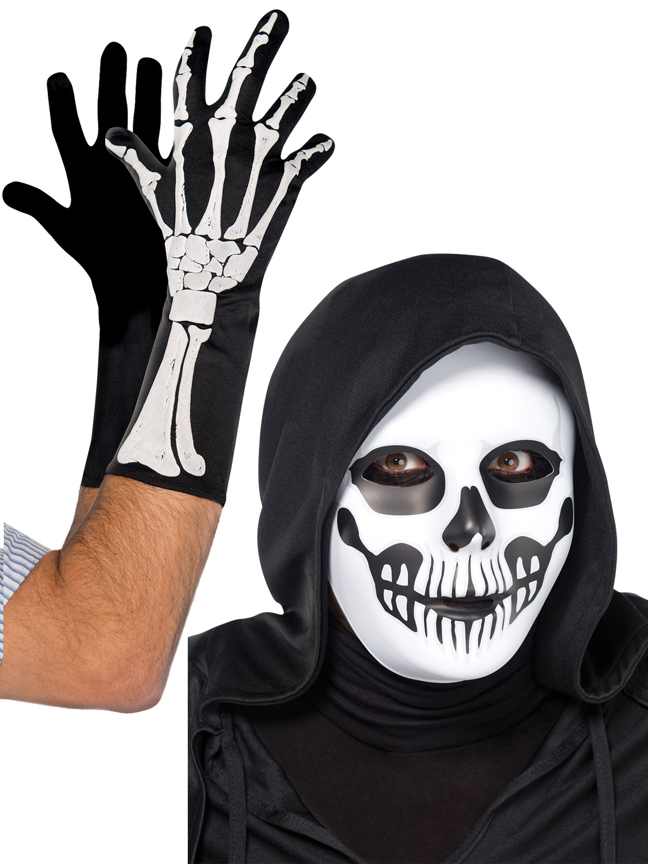 Fancy Amscan International Adults Standard Black And Bone Skeletons Catsuit