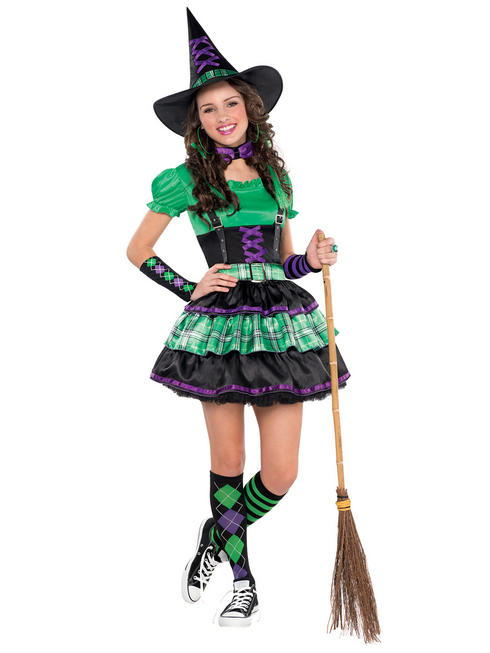Girl's Wicked Cool Witch Costume