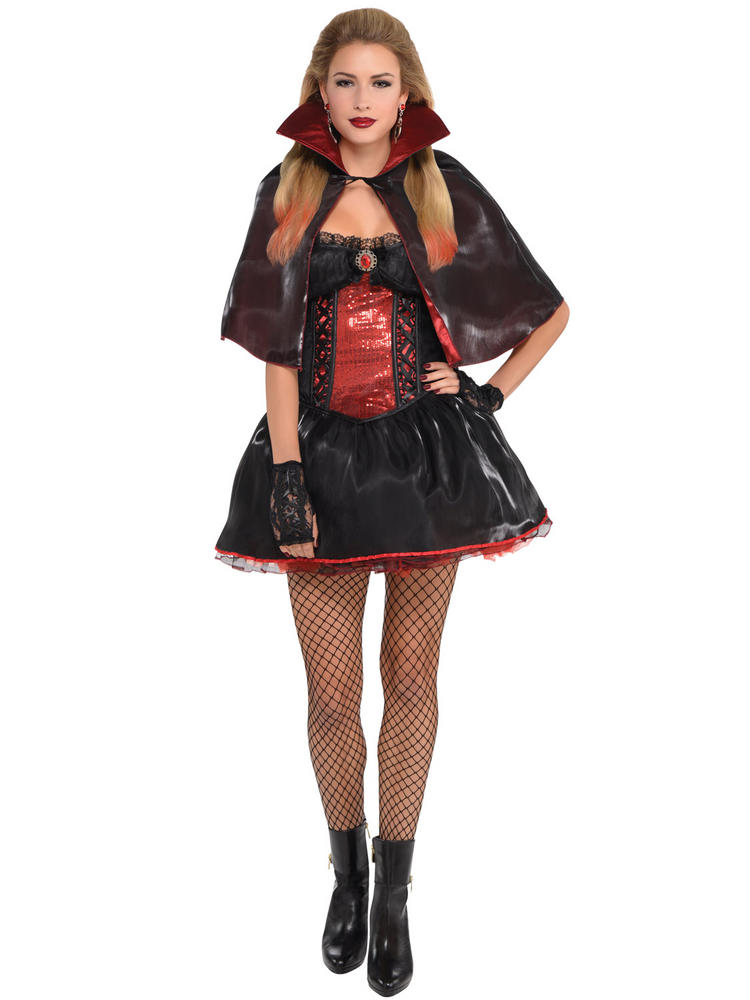 Ladies Dark Vamp Costume