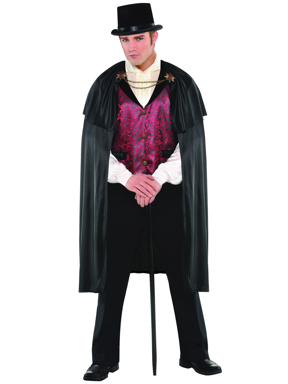 Mens blood count vampire costume adult teen halloween dracula fancy transform yourself into dracula this halloween with this fantastic blood count vampire costume ideal for a party or event solutioingenieria Choice Image