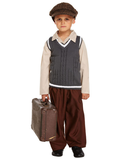 Boy's WW2 Evacuee Costume