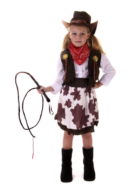 Girl's Cowgirl Costume