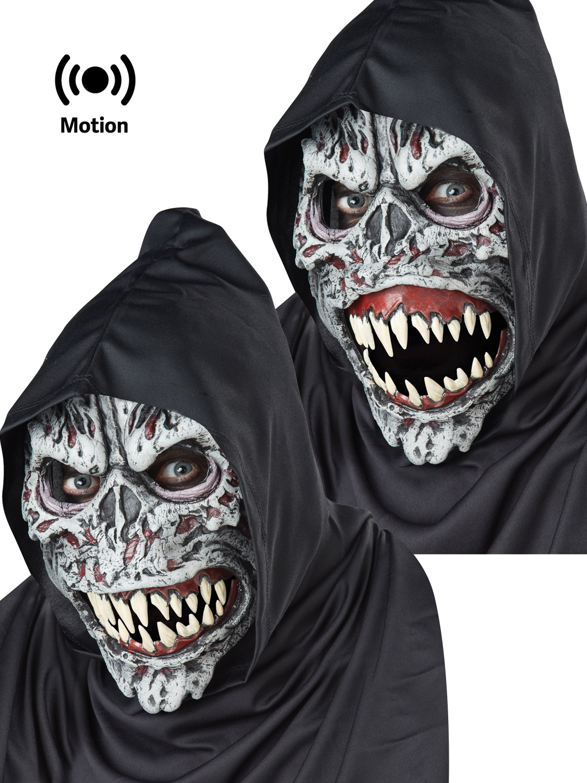 night fiend ani motion mask halloween fancy dress zombie accessory