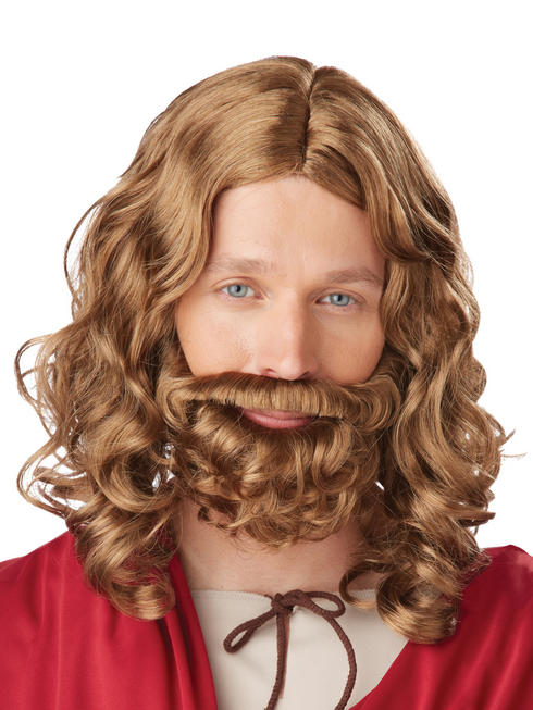 Child's Jesus Wig & Beard