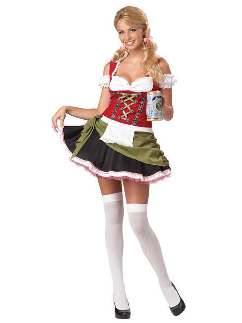 Ladies Bavarian Bar Maid Costume