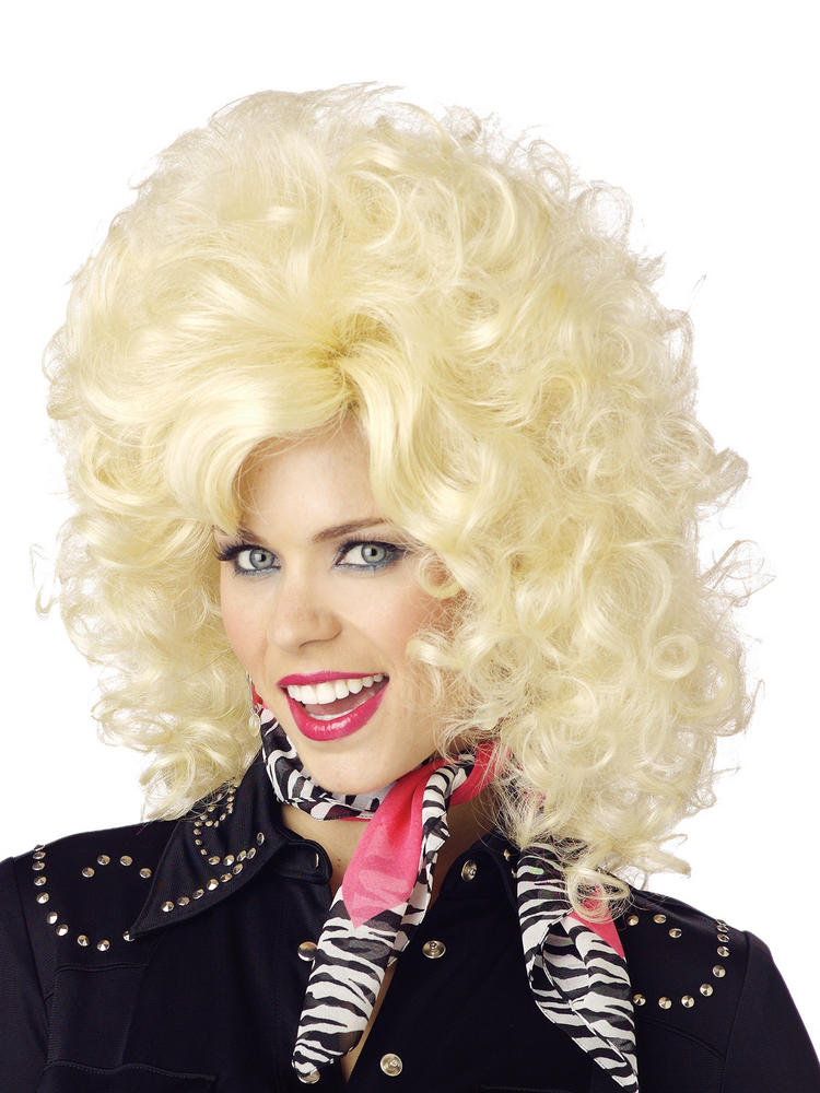 Ladies Country Western Diva (Dolly Parton) Wig