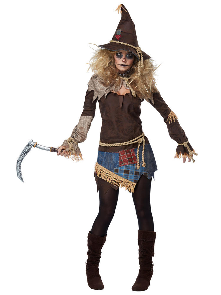 Ladies Creepy Scarecrow Costume