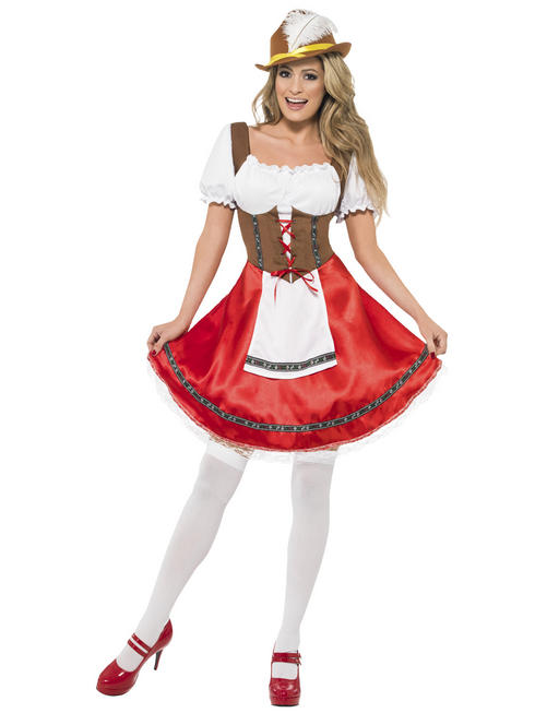 Ladies Bavarian Wench Costume