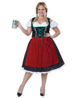 Ladies Oktoberfest Fraulein Costume