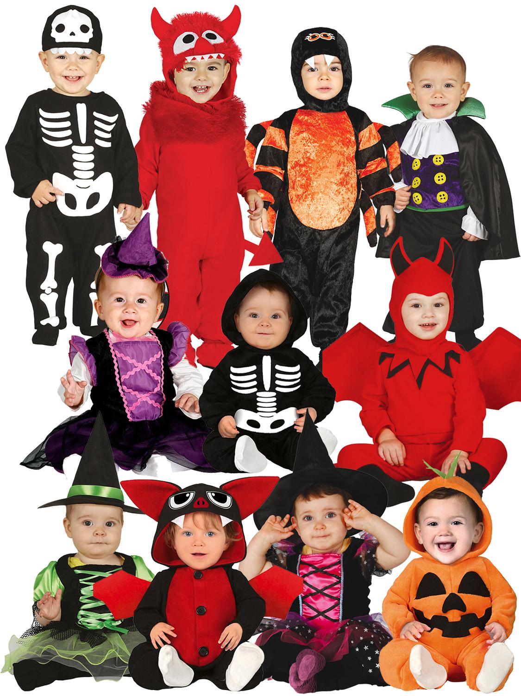 Baby Toddler Halloween Costume Children Kids Ghost Pumpkin Fancy Dress Outfit UK