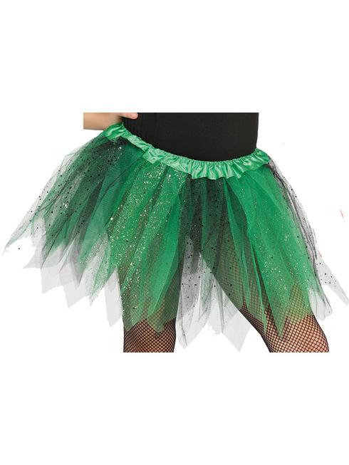 Child's Green & Black Tutu