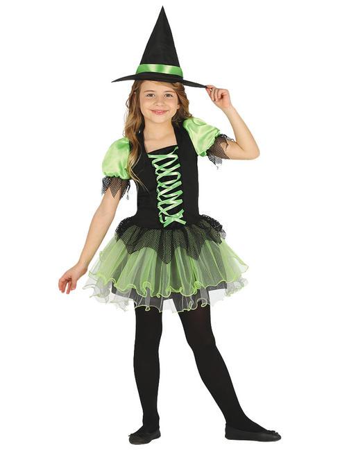 Girl's Tutu Witch Costume
