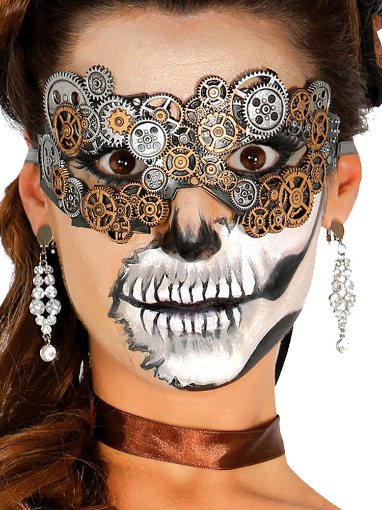Ladies Steampunk Latex Mask