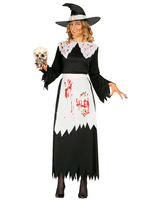 Ladies Bloody Witch Costume