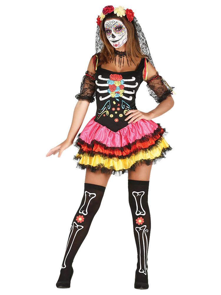 Ladies Catrina Costume
