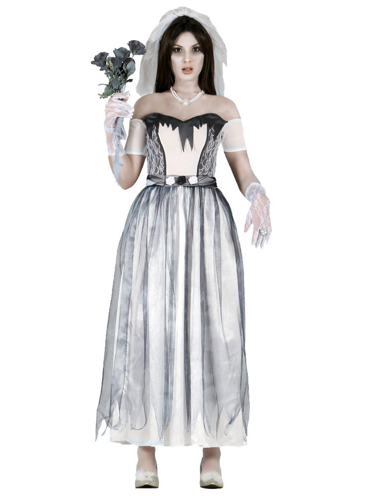 Ladies Ghost Bride Costume