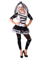 Ladies Monster Bride Costume