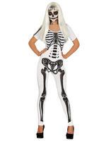 Ladies Skeleton Girl Costume