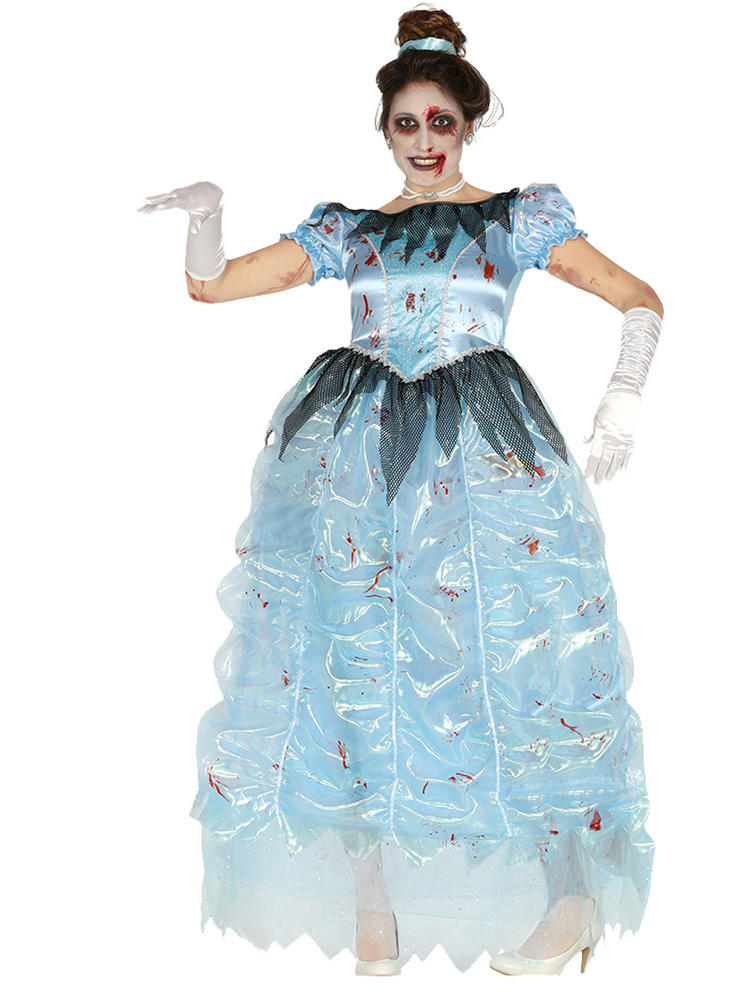 Ladies Zombie Princess Costume