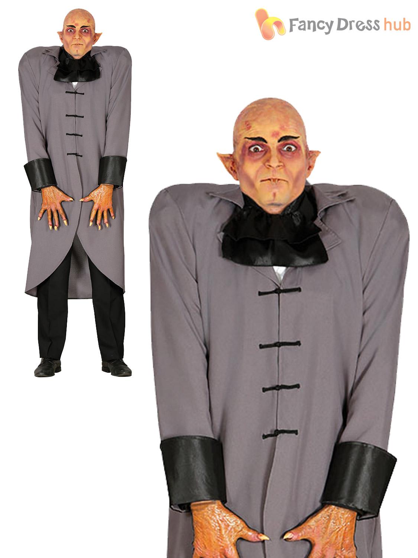 mens vampire butler costume adult fester uncle halloween fancy dress