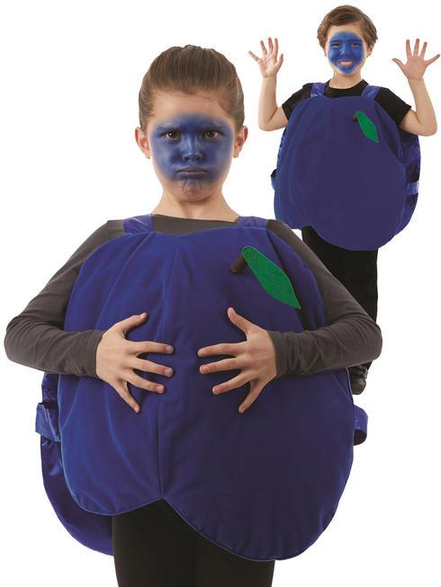 Child's Blueberry Costume