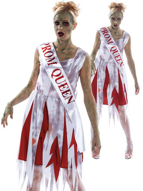 Ladies Horror Prom Queen Costume