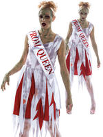 Ladies Horror Prom Queen Costume