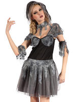 Ladies Gothic Bride Costume
