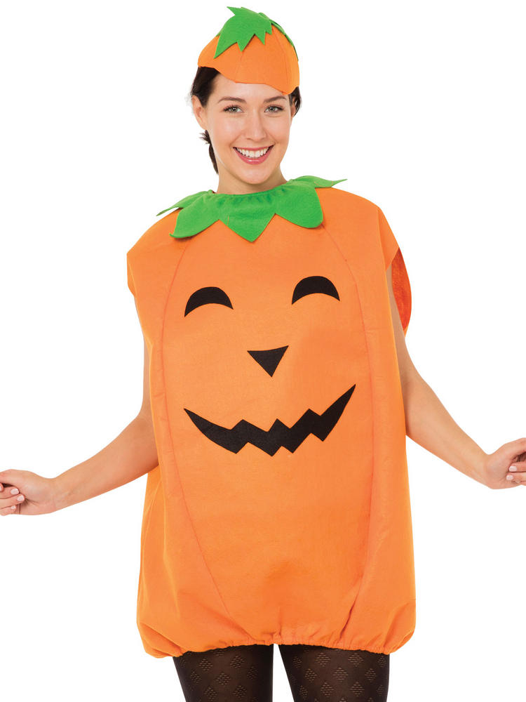 Ladies Pumpkin Costume