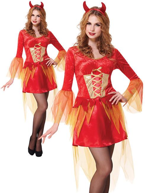 Ladies Devil Maiden Costume