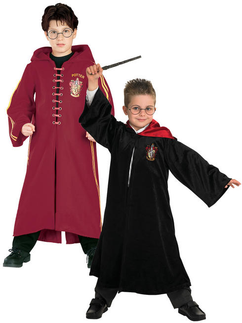 Child's Harry Potter Quidditch - Deluxe School Robe