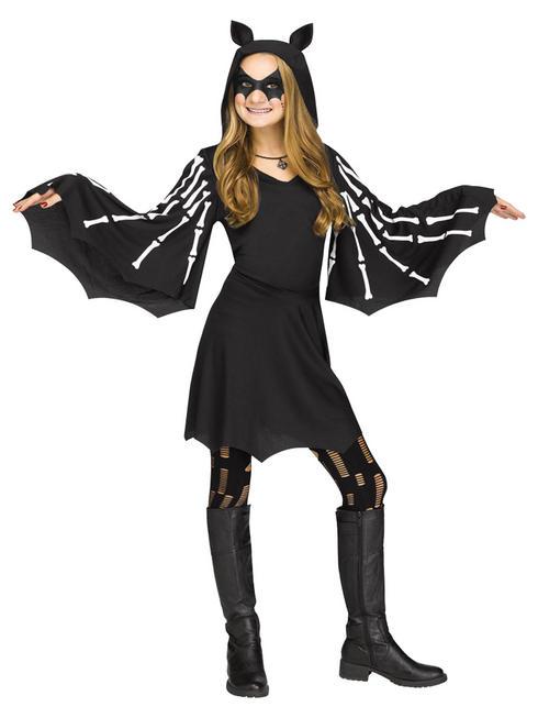 Girls Sweet Bat Costume