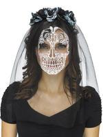 Ladies Skull Veil