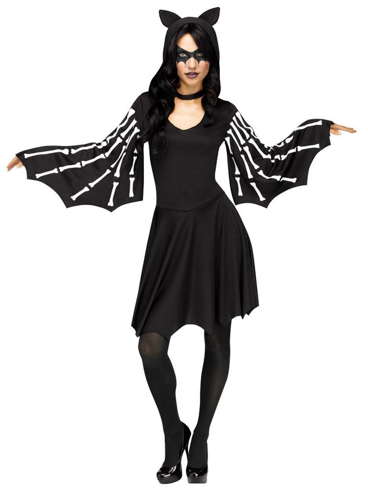 Ladies Sexy Bat Costume