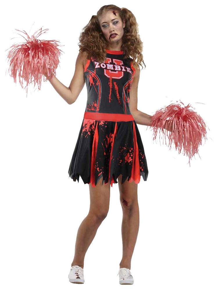 Ladies Undead Cheerleader Costume