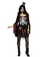 Ladies Voodoo Queen Costume